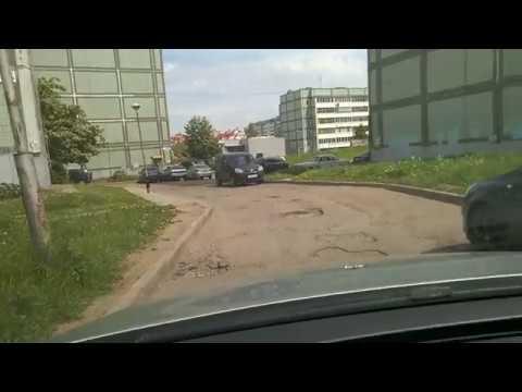 Город Обнинск ул. Гагарина 24 и 36 требуется ремонт дороги.