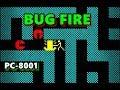 PC 8001 バグファイヤー BUG FIRE  レトロゲーム の動画、YouTube動画。