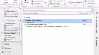 Tutorial Outlook 2010: Junk E-Mails filtern & bearbeiten
