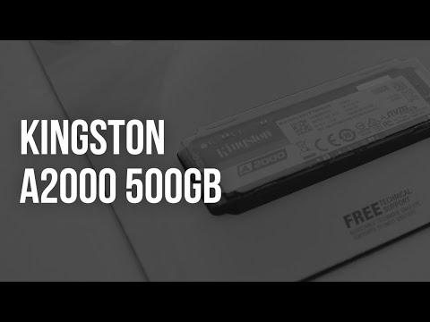 Kingston A2000 500GB NVMe M.2 2280 PCIe 3.0 x4 3D NAND TLC (SA2000M8/500G)