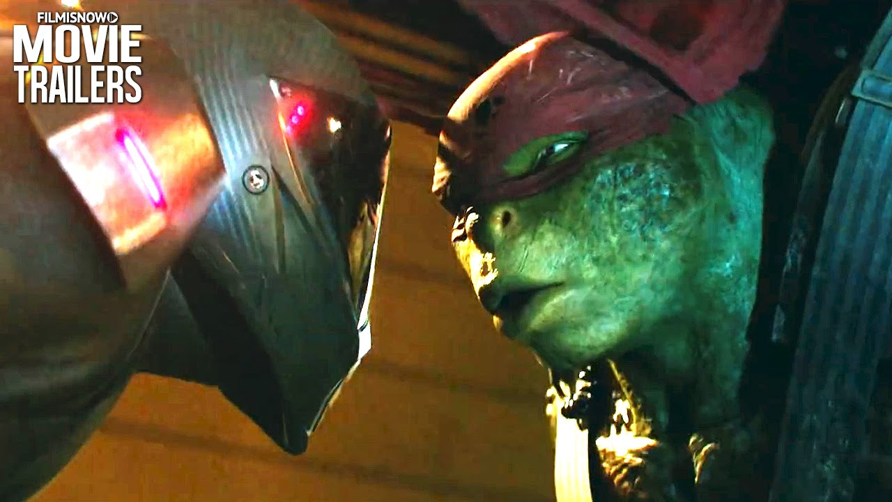 Raphael Is Taking Out The Trash In A New Clip From Teenage Mutant