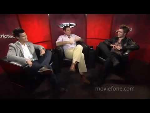 Pattinson, Lautner i Weitz - Unscripted interview