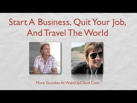 Start a Business, Quit Your Job, and Travel the World (Episode #14)