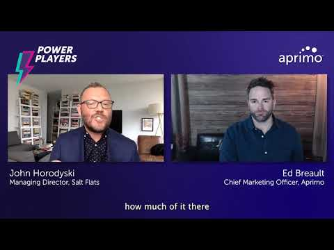 Question 4: Climbing the Analytics Maturity Ladder | John Horodyski – Aprimo Power Player
