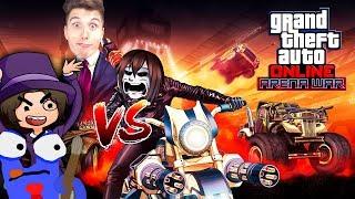 Das ULTIMATIVE GTA5 Online BATTLE! Paluten & GLP vs. Zombey & Maudado