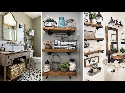 ❤DIY Rustic Farmhouse style bathroom decor Ideas❤ | Home decor & Interior design| Flamingo Mango
