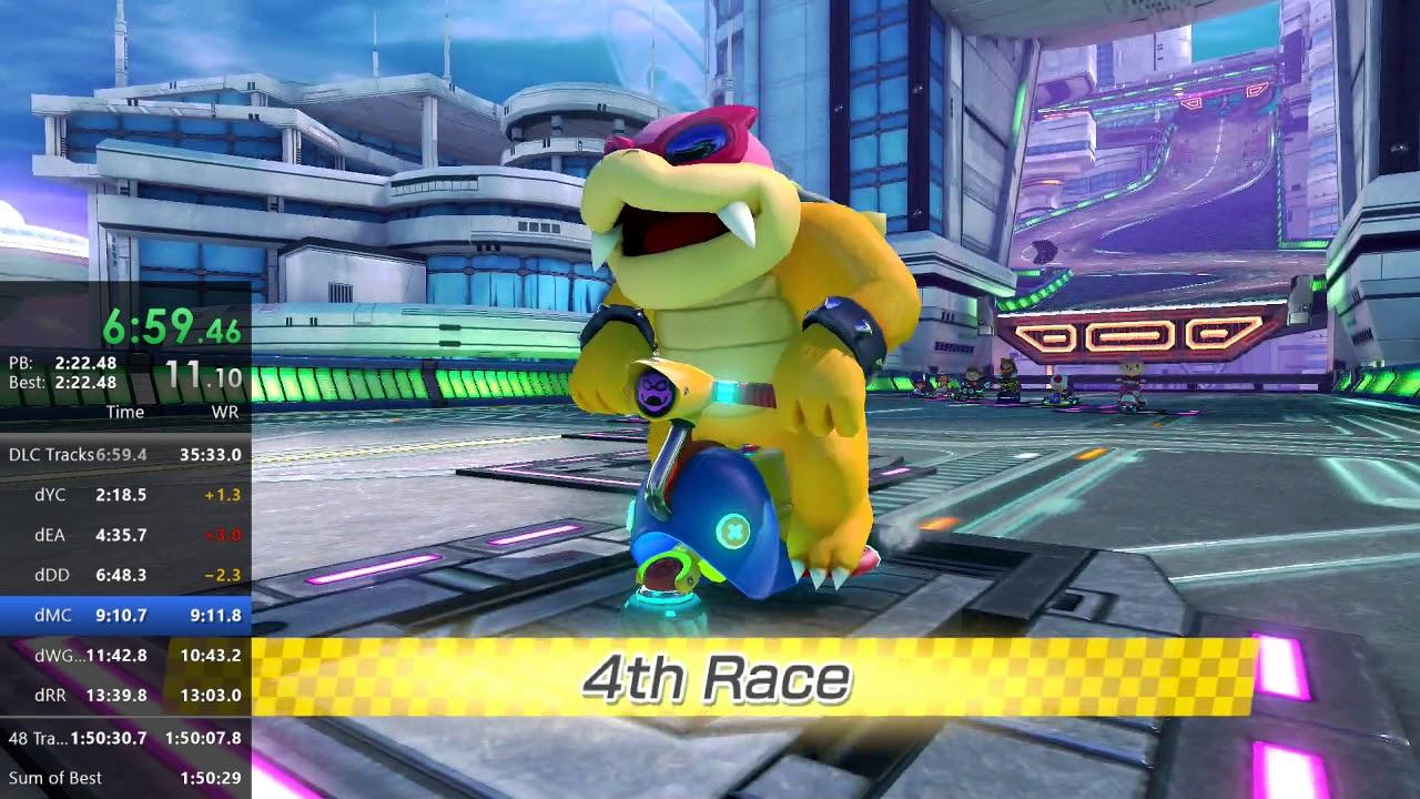 Mario Kart 8 Deluxe 150cc 48 Track No Item Speedrun In 1 49 59