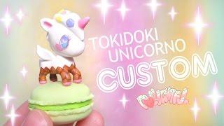 Custom TokiDoki Unicorno Frenzies Confetti Ice Cream Repaint!