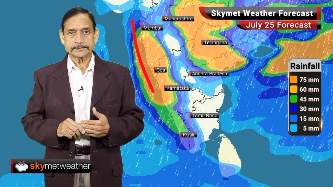 Weather Forecast July 25: Heavy Rainfall over Uttarakhand and Madhya | Skymet Weather