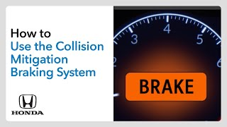 homepage tile video photo for How to Use the Collision Mitigation Braking System™ (CMBS™)