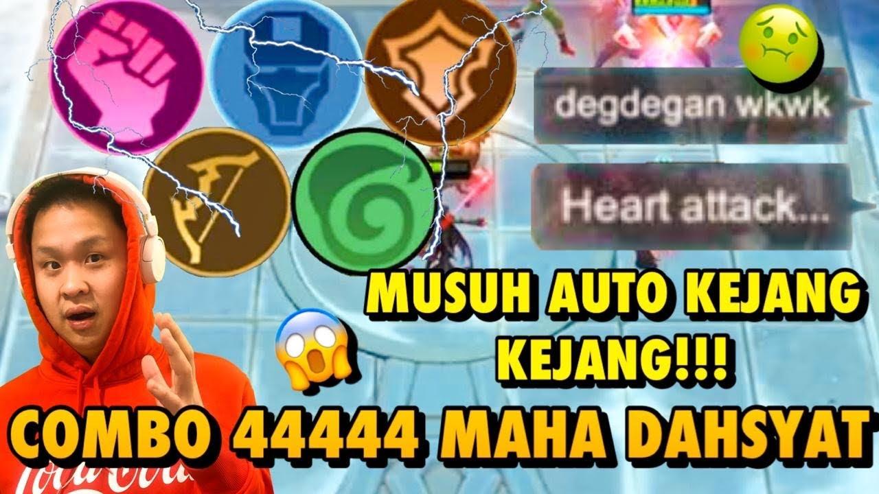 COMBO 666 SEKARANG JADI 44444.. MUSUH AUTO MINTA AMPUN!!