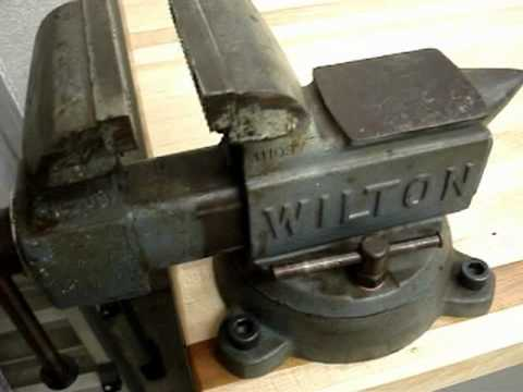 Tour Of My Wilton Machinist Vise Model 644 Amp Maple Table