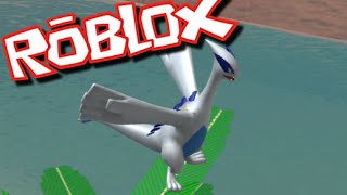 Roblox POKEMON GO HUNT!! I FOUND LUGIA IN ROBLOX!!