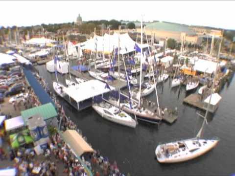 Annapolis Sailboat Show Timelapse