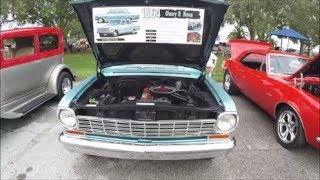1964 Chevy II Nova Four Door Sedan Blu Eustis100717
