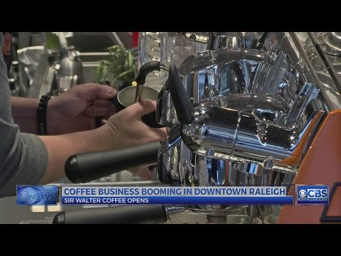 Coffee businesses booming in downtown Raleigh