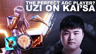 THE PERFECT ADC PLAYER? UZI ON KAI'SA! | League of Legends
