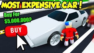 I BOUGHT THE HOVER CAR IN MAD CITY!! *5 MILLION DOLLARS* (Roblox)