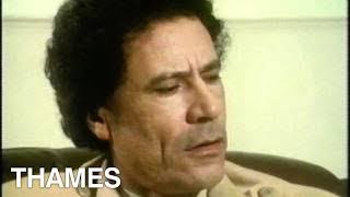 Libya - Muammar  Gaddafi Interview - TV Eye
