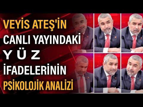 Veyis Ateş'in canlı yayında hakkındaki iddiaları dinlerken ki surat ifadesini Fatih Ertürk yorumladı