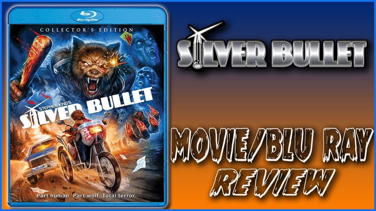 Download Silver Bullet || Movie/Blu Ray Review Scream Factory || Christian Hanna Horror