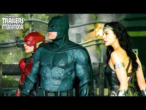 Liga da Justiça   Novo Trailer da Comic-Con
