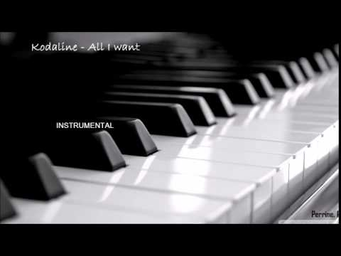 Kodaline - All I want (instrumental)