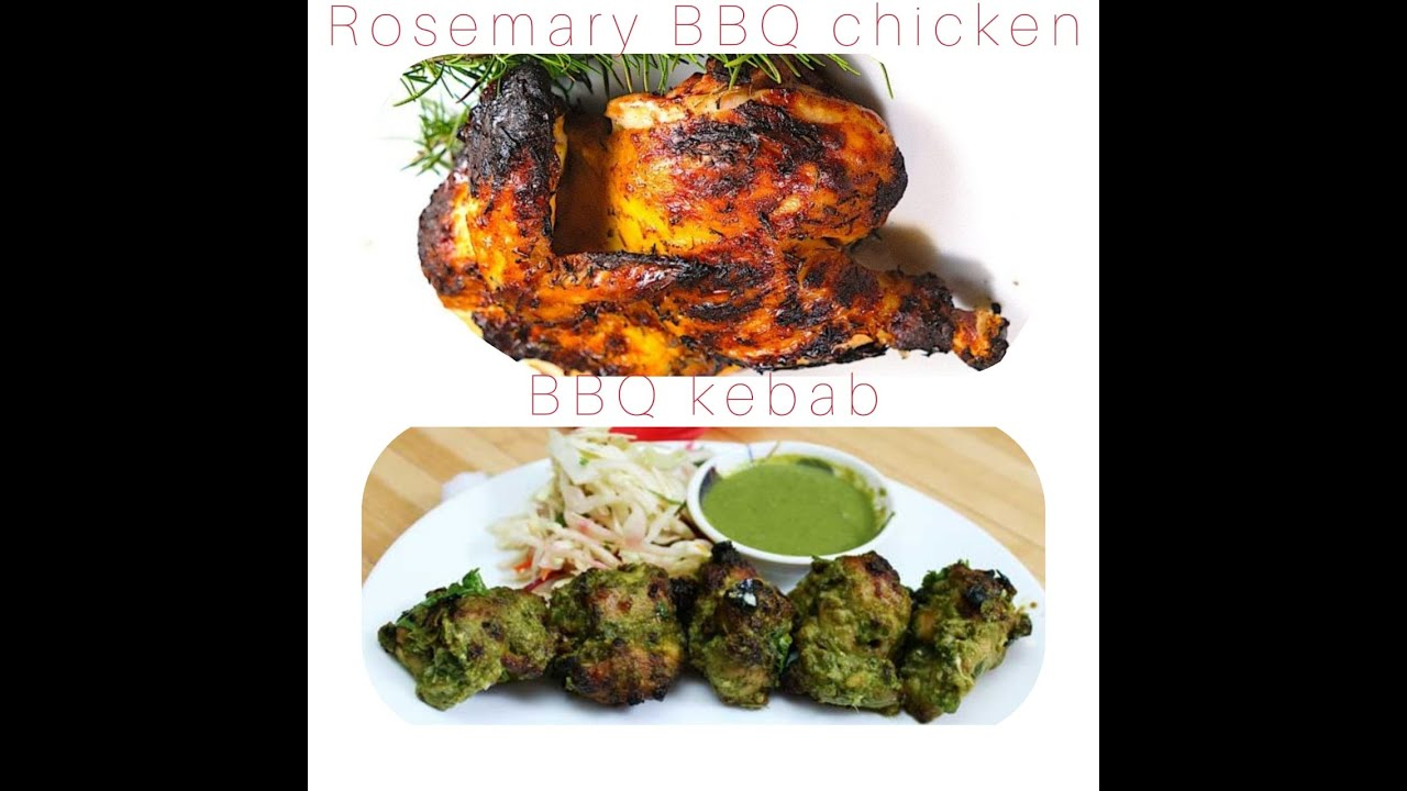BBQ Flower Pot Chicken & Rosemary BBQ Chicken 😋😋😋😋