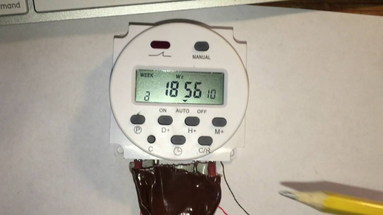 How to setup the ACDC Timer Model YP109A Wiring Diagram