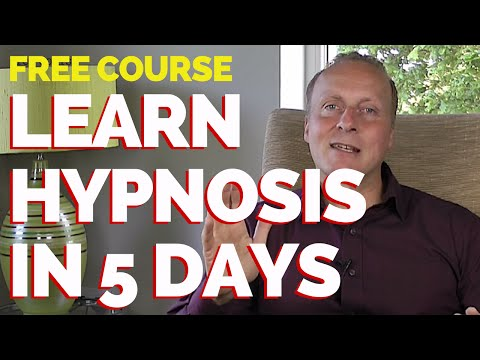 Learn Hypnosis in 5 days - FREE couse - learn to communicate with your unconscious mind