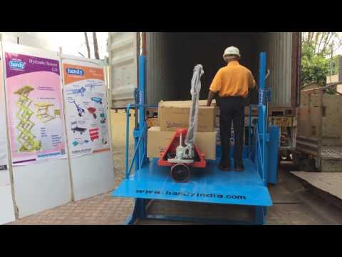 Truck Loading Unloading Machine Manufacturer  Technical Enterprises 91 9837059222