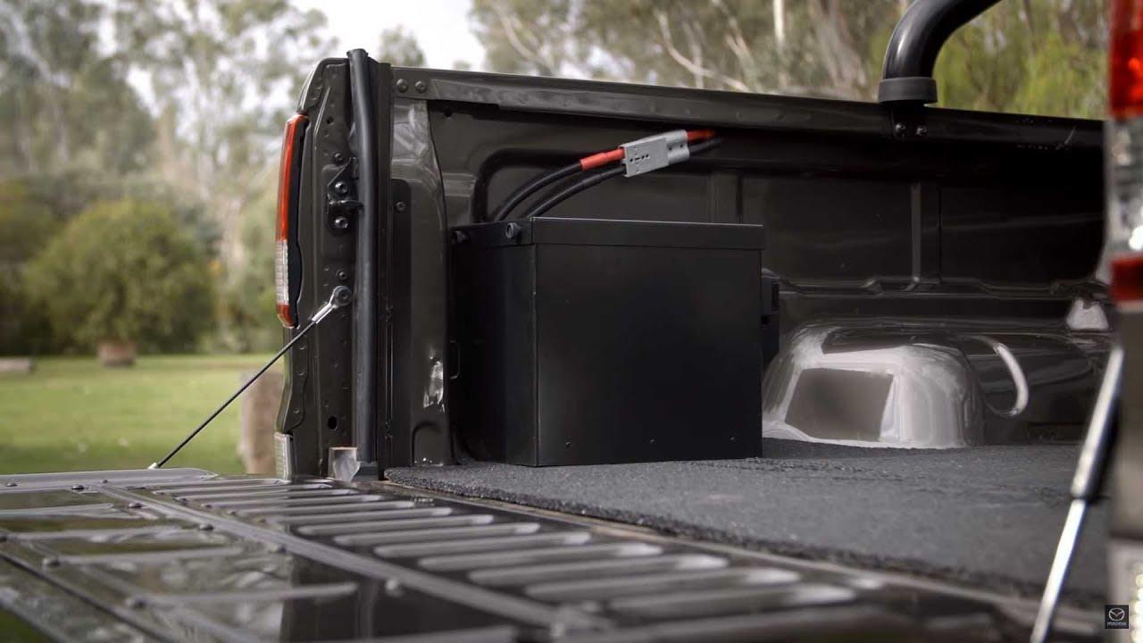 Mazda Bt 50 Genuine Accessory Dual Battery System