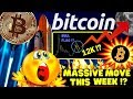 BITCOIN MASSIVE MOVE THIS WEEK !??bitcoin litecoin price prediction, analysis, news, trading