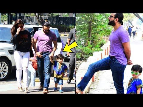 OMG ! Kareena Kapoor and Saif Ali personally came to Cheer Taimur for his first acting shooting