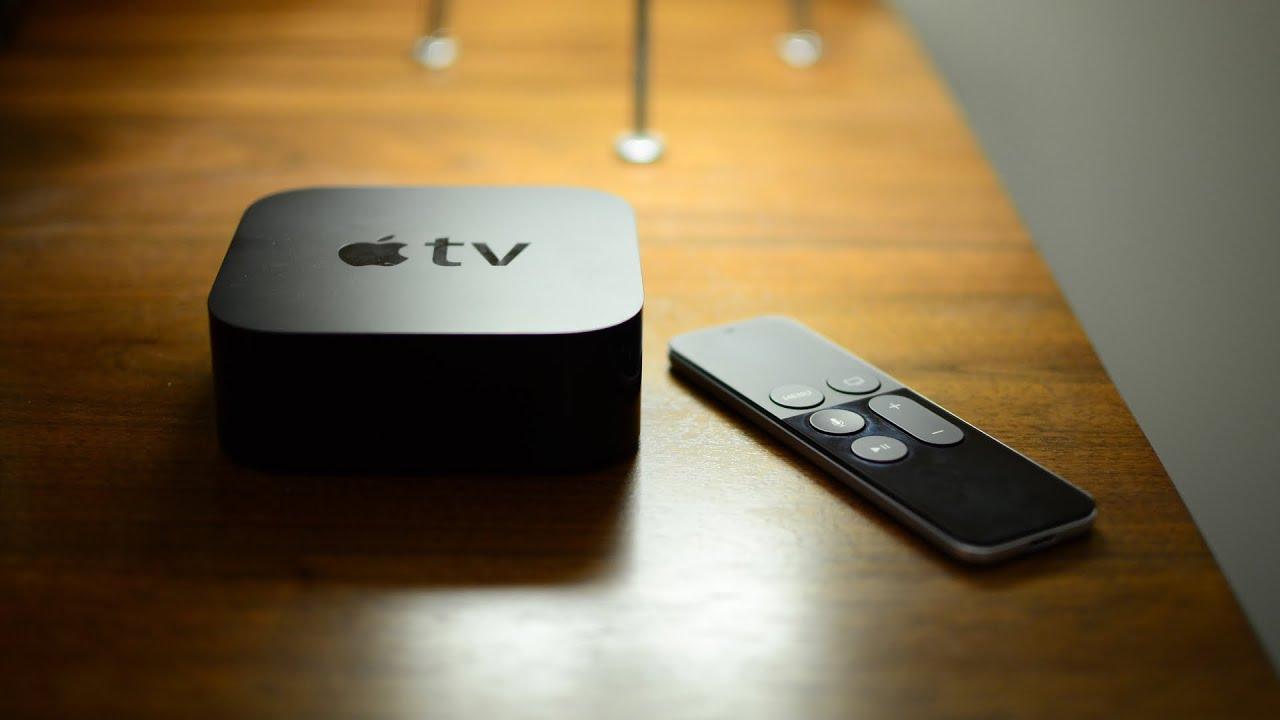 Utgångar apple tv gen 4