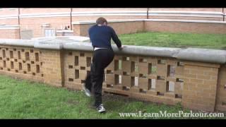 How to Parkour / Freerun : Swing Leg Flow Tutorial