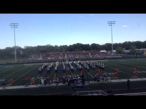 Wheeling High School Marching Band at Lake Park 2015