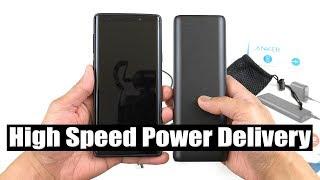Anker PowerCore 20000mAh PD Power Bank (charges Fuji XT-3, smartphones, laptops, tablets) [4K] 60fps