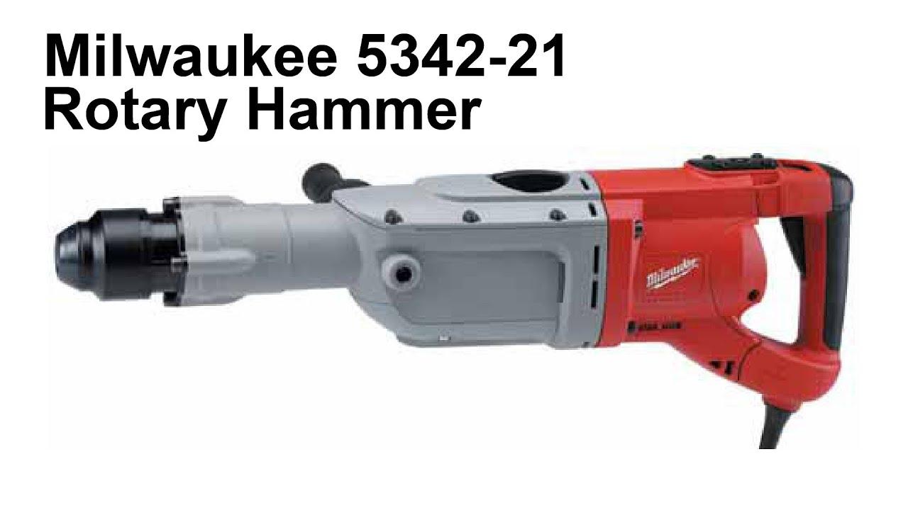 Milwaukee 5342 21 2 Quot Rotary Hammer Youtube