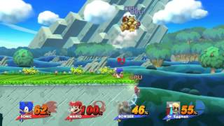 sonic and master mario vs lord bowser and dr eggman
