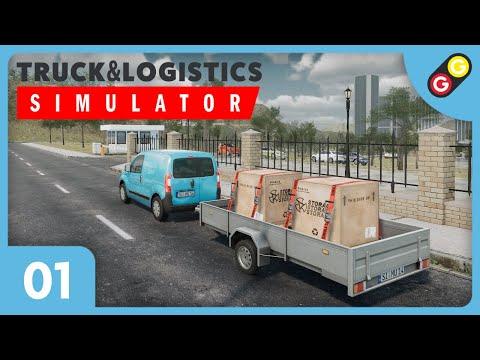 Truck & Logistics Simulator #01 On découvre le jeu ! [FR]