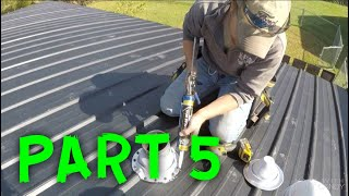 HOW TO INSTALL A METAL ROOF (PART 5)