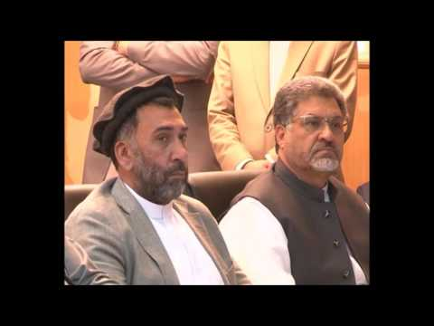 Speech of NSA Mohammad Haneef Atmar at the Peace Agreement Ceremony with Hezb-i-Islami Afghanistan