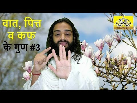 3. Basic Features of Three Doshas in Ayurveda | About Vaata Pitta & Kapha by Nityanandam Shree