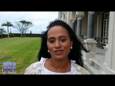 Minister Tinee Furbert, Social Development and Seniors, Oct 8 2020