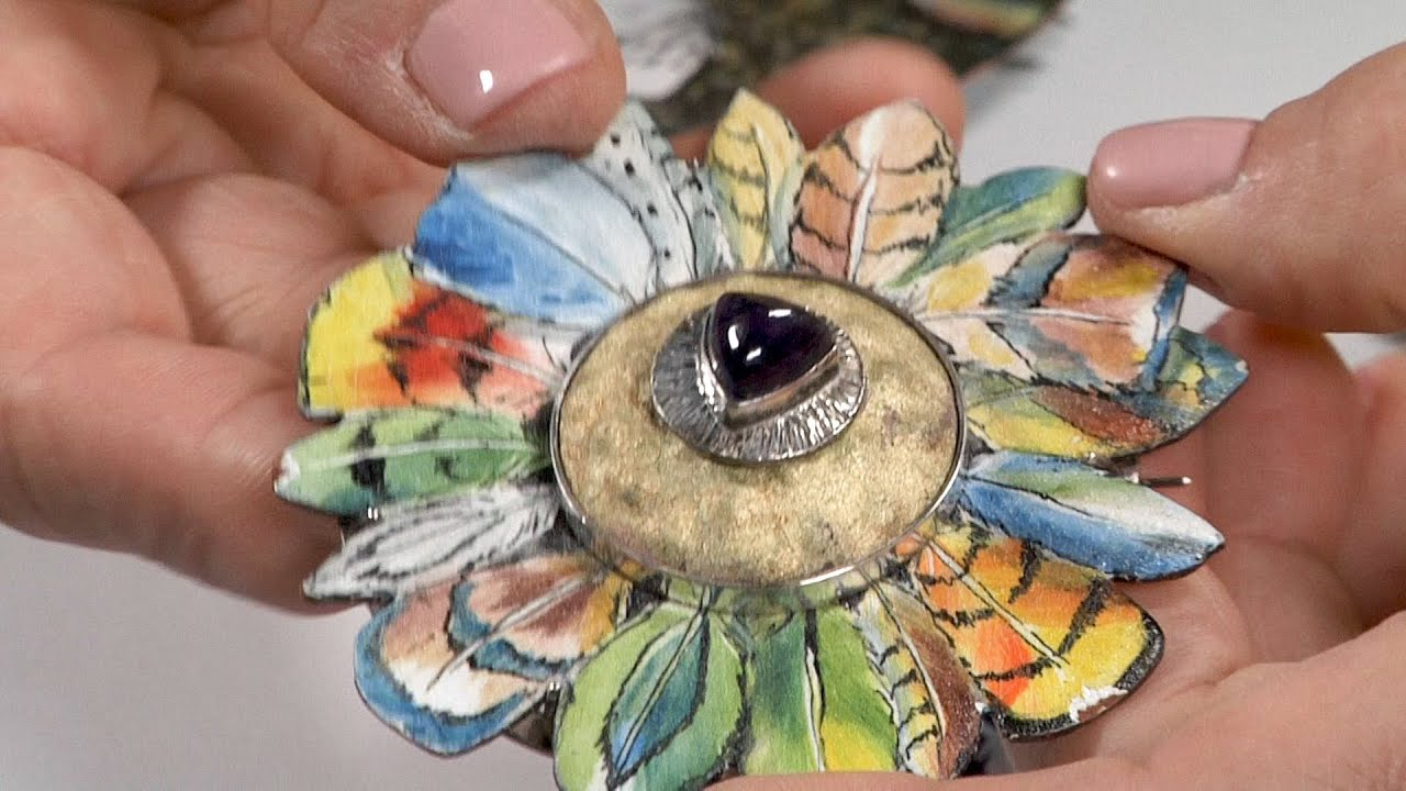 Cool Tools | Pen Techniques with Sunshine Enamels by Jan Harrell