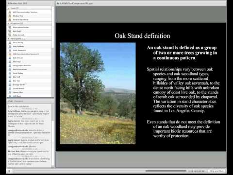 Los Angeles County Oak Woodland Conservation Management Plan