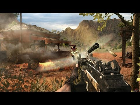 HEAVY COMBAT IN AFRICAN DESERT ! From Awesome FPS Game Far Cry 2