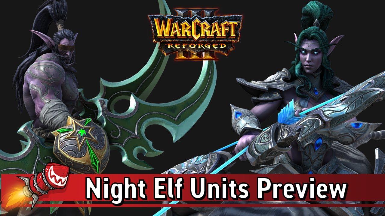 warcraft 3 night elf logo