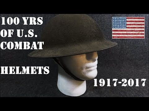 American Military Protective Helmets: 100 Years Of Them, 1917-2017.